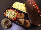 Fleanette's Kitchen - Taboulé aux agrumes / germes de soja / boulettes sarrasin comté