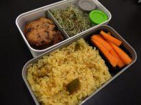 Fleanette's Kitchen - Riz à l'indienne, graines germées