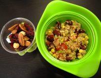 Fleanette's Kitchen - Taboulé recyclé, yaourt et fruits secs