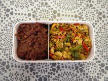 Fleanette's Kitchen - Oeufs brouillés et refried beans