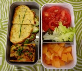 Fleanette's Kitchen - Sandwich avocat panisse et mayo