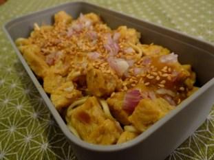 Tempeh sauce à l'orange et au gingembre - Fleanette's Kitchen