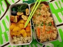 Bento japonisant kale, potimarron... - Fleanette's Kitchen