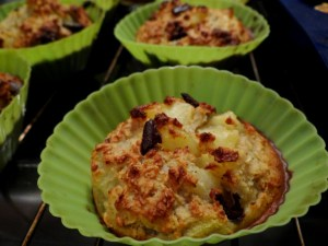 Muffins moelleux à l'avoine Poire-Chocolat - Fleanette's Kitchen