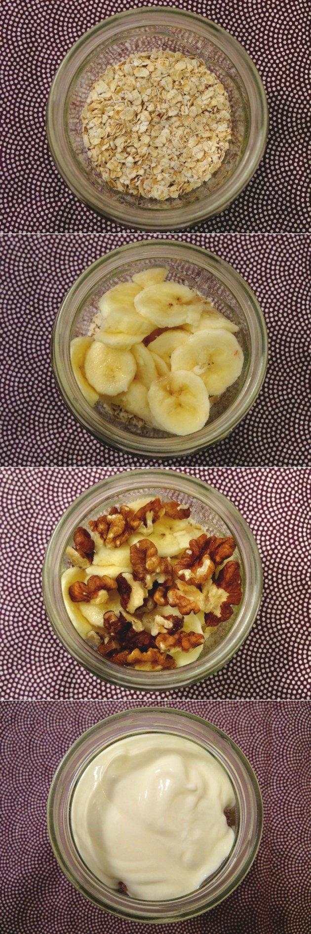 Overnight Oatmeal - Porridge du lendemain - Fleanette's Kitchen