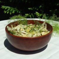 Salade de fenouil et pomme rafraichissante