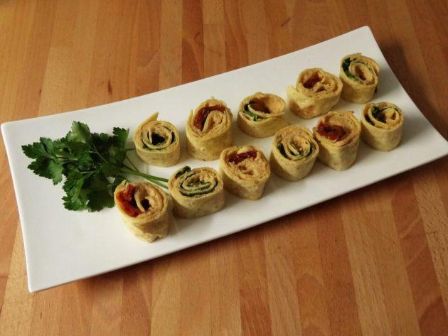 Wraps houmous et tomates séchées - Fleanette's Kitchen