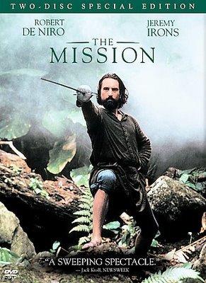 """Capa do Filme """"A Missão"""""""