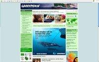 Site da Greenpeace