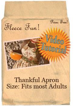 thankful apron peeps