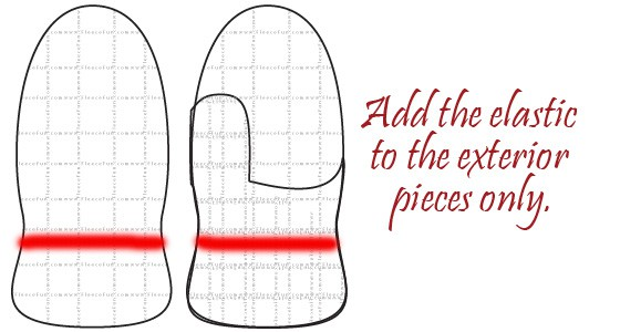 Wow this Free Mitten Pattern for Fleece comes in sizes kid to adult. What a great DIY idea. They're double lined so you know they'll be warm. I love that this tutorial has a video too! Great fleece sewing project.