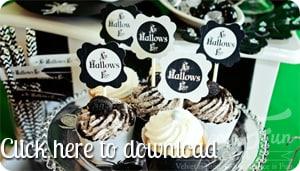 Free halloween cupcake download