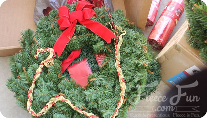 wreath decorate