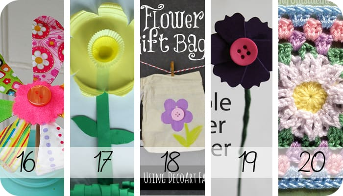 Over 30 fabulous flower ideas to bring spring to your home! I love the easy diy crafts, decor, party and gift ideas this post has. Perfect for a garden party.