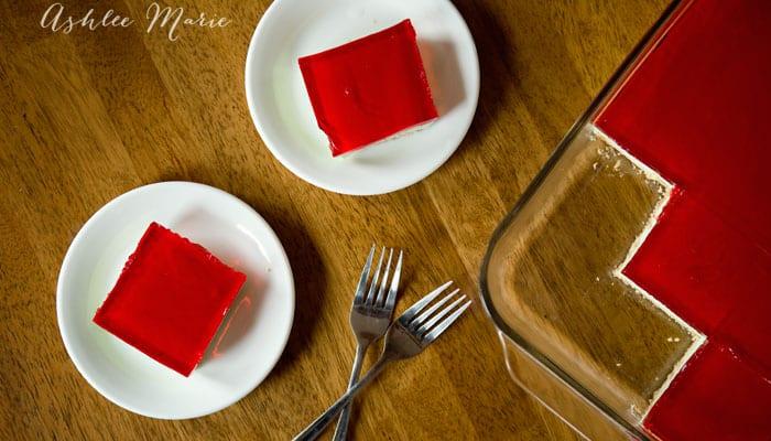 layered dinner jello
