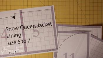 Queen elsa cape0006