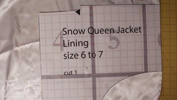 Queen elsa cape0007