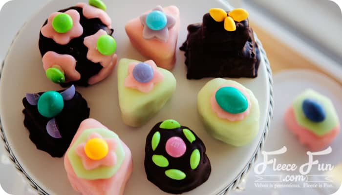 """I love how easy these """"Tea Cakes"""" are to put together.  And they look so fancy - you'd never guess what they're made from!"""
