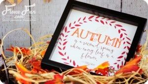 fall printable quote