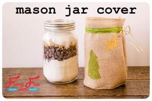 mason jar cover feature