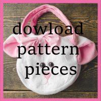 download fleece purse