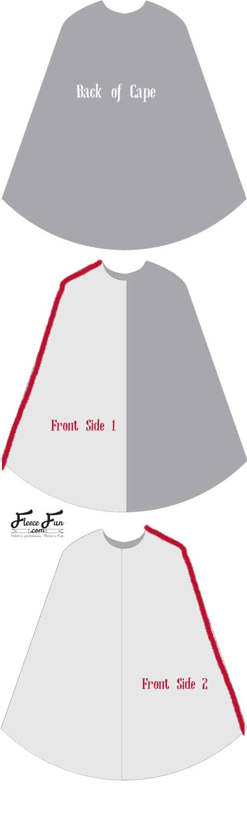 This Long Hooded Cloak Pattern is easy to make and is free! Video tutorial makes it easy to sew.simple seams and great for a variety of costumes. Perfect sewing project and beginner friendly.