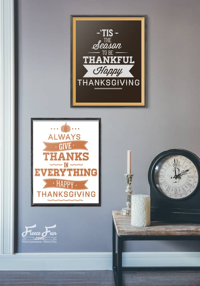 Love these free Thanksgiving printables!.