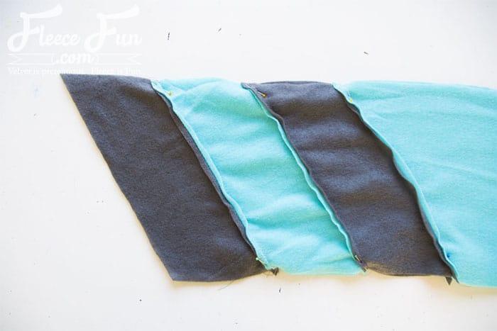 Colourblocked Cowl Tutorial - Pienkel for Fleece Fun 11wm