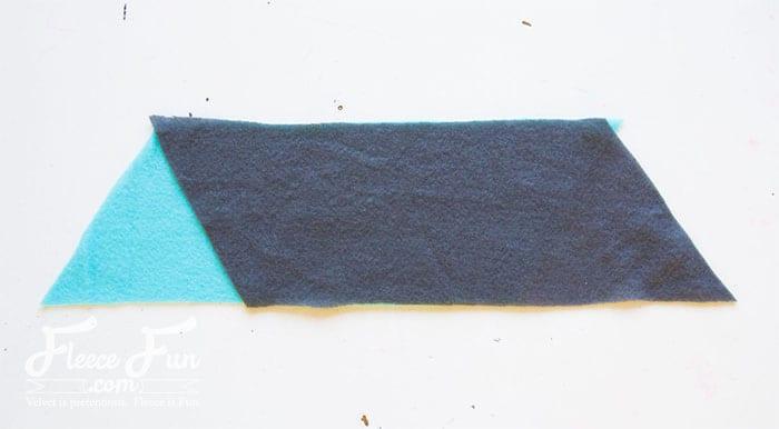 Colourblocked Cowl Tutorial - Pienkel for Fleece Fun 2wm