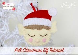 Molly and Mama's Felt Elf Tutorial for Fleece Fun
