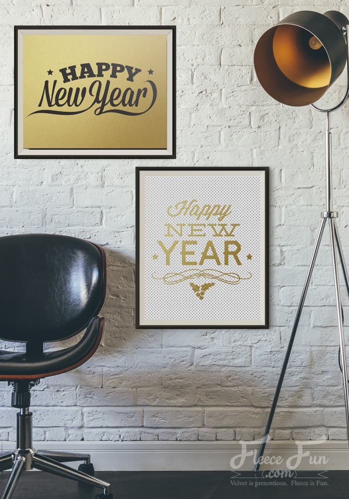 Love these FREE New Years Printables. They are so classic and there's no year on them so I can use them over and over!