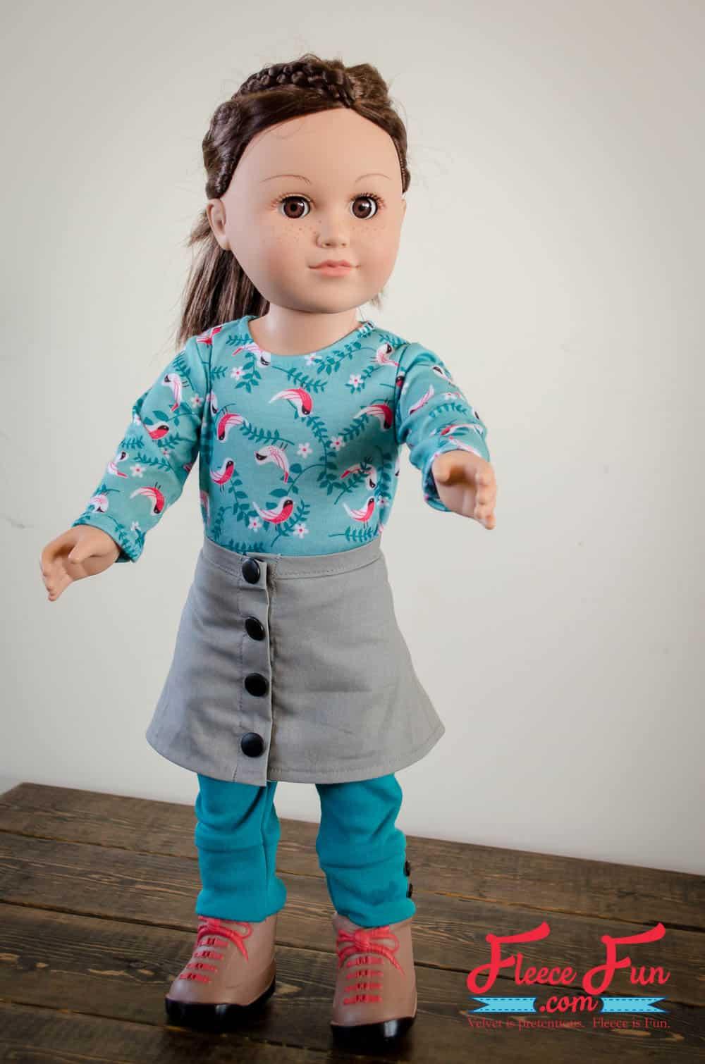 Great free doll pattern.