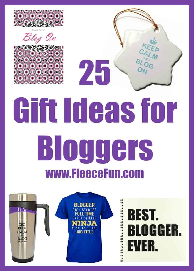 I love this collection of gift ideas for bloggers!