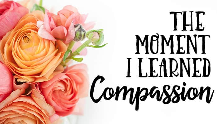 I love this story about how she learned what compassion is from her grandmother. Wonderful share.