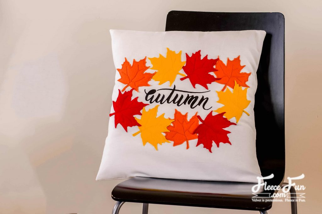 I love this Autumn Leaves Pillow Tutorial (Free Pattern). It's the perfect sewing project for fall. I love all the leaves on it. Great DIY home decor.
