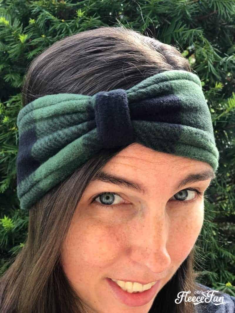 Head Warmer Headband : warmer, headband, Fleece, Warmer, Headband, Style