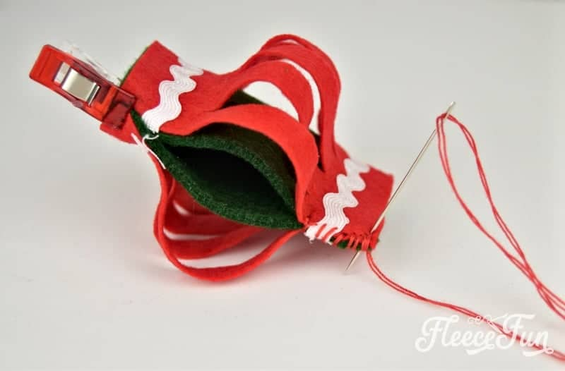 This Felt Lanterns Handmade Christmas Ornament tutorial is easy to make and a wonderful addition to your tree. With straightforward instructions you'll be able to make this holiday decor easily.