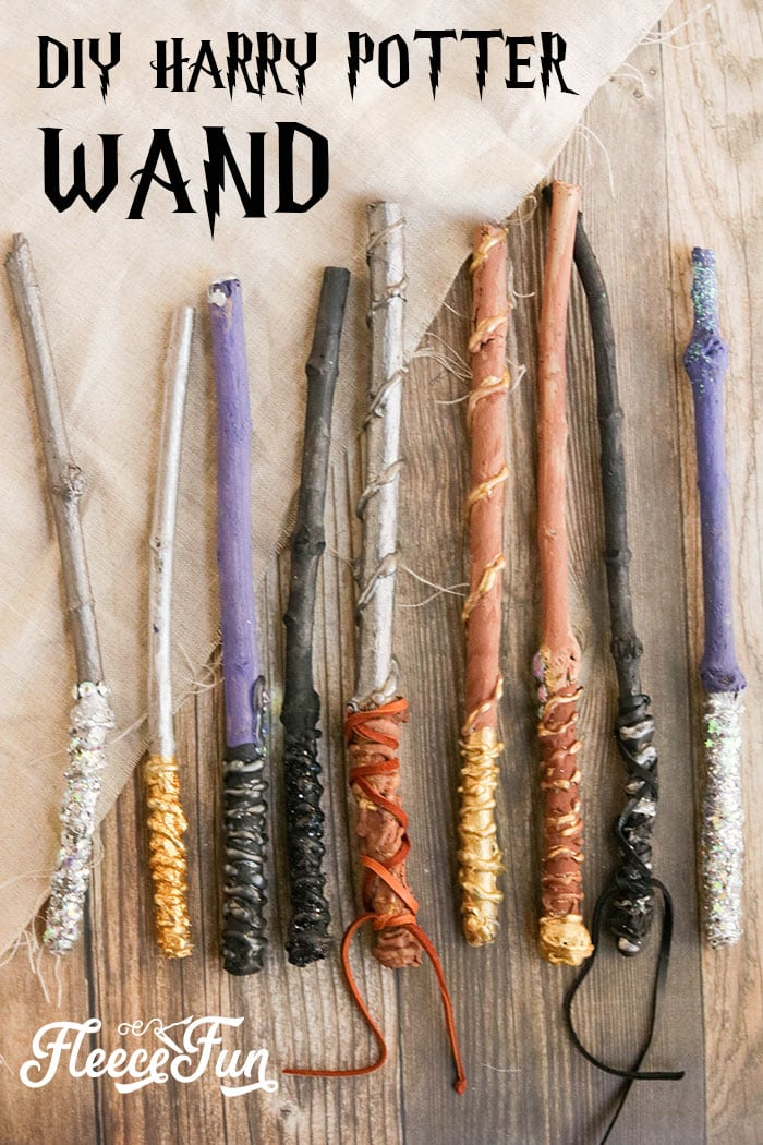 You can make a DIY Harry Potter Wand made from real wood! Make a wand worthy to grace the window display of Ollivander's.Easy step by step instructions.