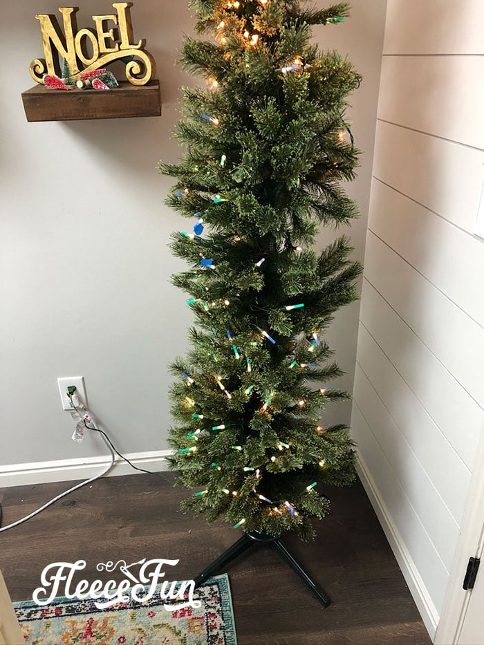 Learn how to spray paint a pre lit Christmas tree with these easy to follow step by step instructions and photos. Easy tricks to make it simple!