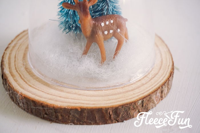 This DIY Cloche Ornament is shatterproof, and a wonderful addition to Homemade Christmas Ornaments. With a few basic materials you can make several variations of this ornament. Perfect for your tree or a hostess gift.