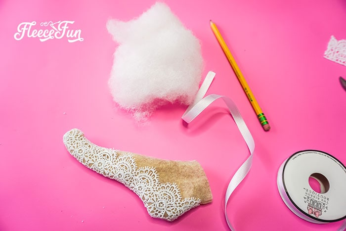 stuffin and turned ornament. This delicate Ballet Slipper Handmade Ornament Tutorial is inspired by the Nutcracker Suite! Free PDF pattern and SVG file with step by step directions.