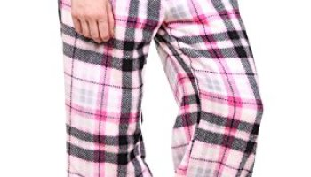 Totally Pink Women s Warm and Cozy Plush Pajama Bottoms (Medium 458386df4