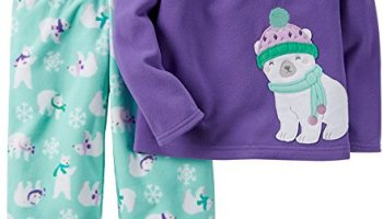2ce04edbe0fd Carter s Baby Girls Fleece Pajamas Two Piece Set 3-9 months (9 ...