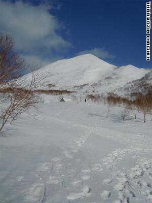 Mt.Niseko-Annupuri near Goshiki hot spring