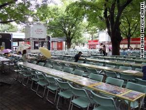 Asahi SuperDry Beer Garden