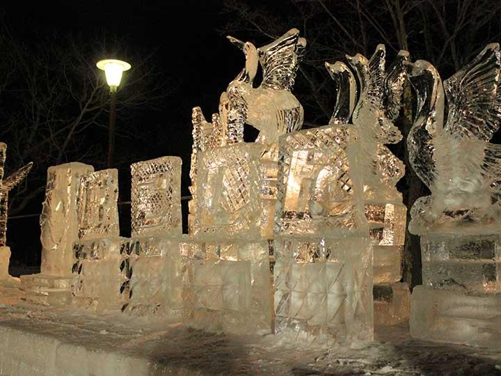 Ohnuma Hakodate Snow & Ice Festival 2015