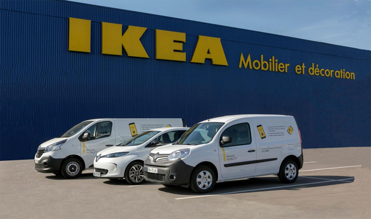 Ikea France Forms Partnership With Renault Mobility Fleet