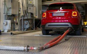 Fiat 500X controllo emissioni
