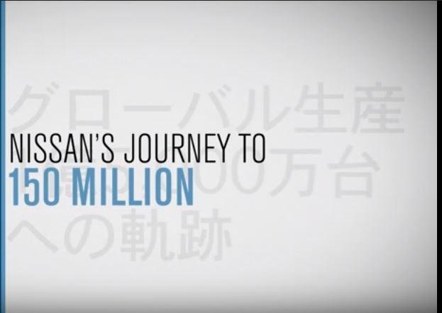 Nissan: 150 milioni di veicoli prodotti globalmente