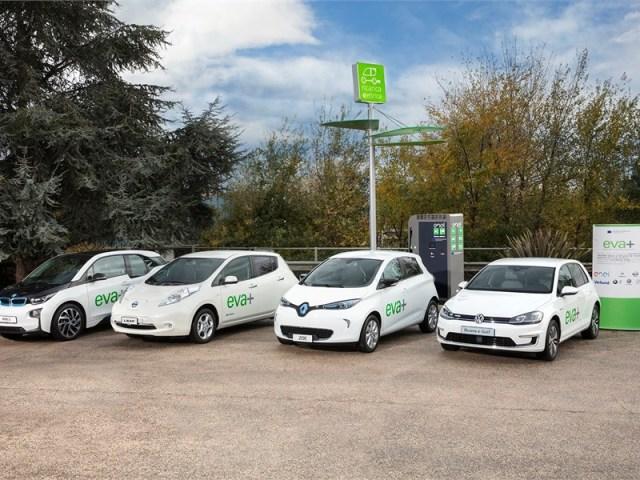 mobilità elettrica extraurbana , EVA+ è il progetto coordinato da Enel